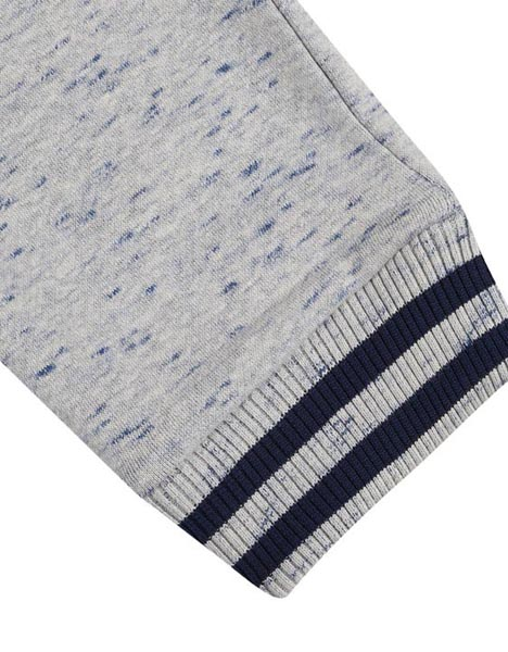 Spurs Kids Stripe Rib Detail Jogger