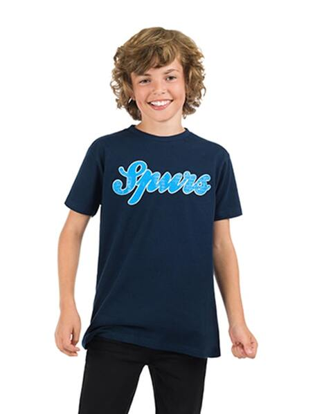 Youth Boys Spurs Raised T-Shirt