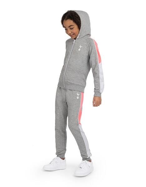 Youth Girls Salt And Pepper Jogger