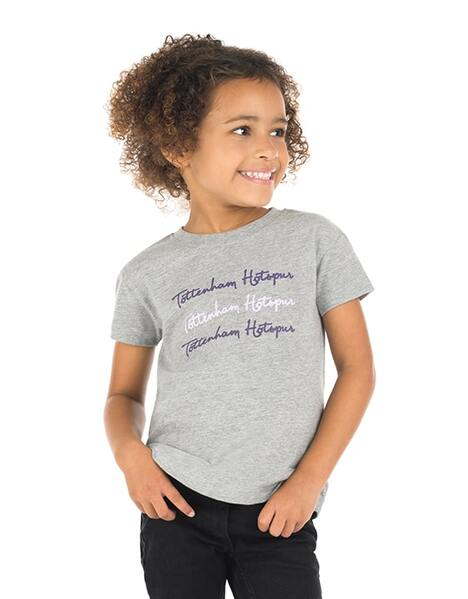 Kids Girls Tottenham Hotspur Print T-Shirt