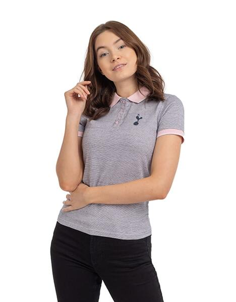 Spurs Womens Jacquard Polo