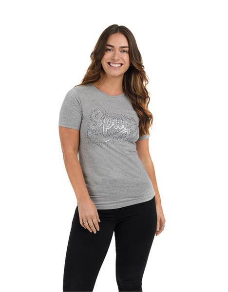 Spurs Womens Stud Detail T-Shirt