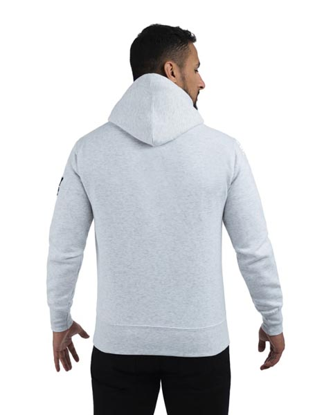 Spurs Mens Embroidered Overhead Hoodie