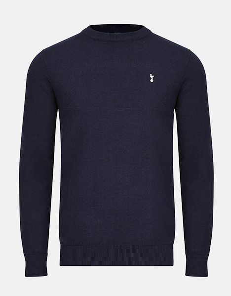 Spurs Mens Essential Crew Neck Jumper
