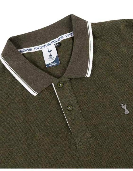 Spurs Mens Tipped Collar Polo