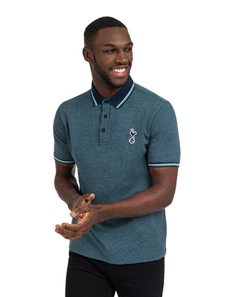 Spurs Mens All Over Birdseye Polo