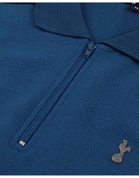 Spurs Mens Colour Block Sleeve Polo