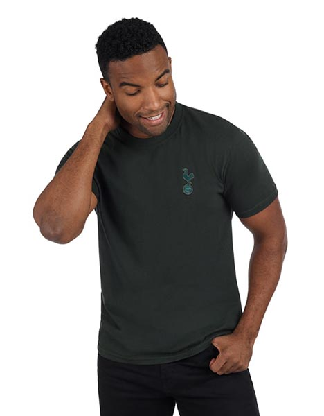 Spurs Mens Green Essential T-Shirt
