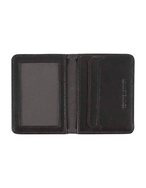 BOXED LEATHER CARD WALLET