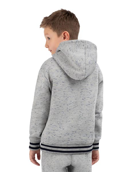 Spurs Kids Cross Over Neck Hoodie