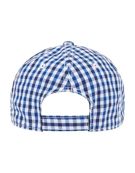 SMALL KIDS GINGHAM CAP