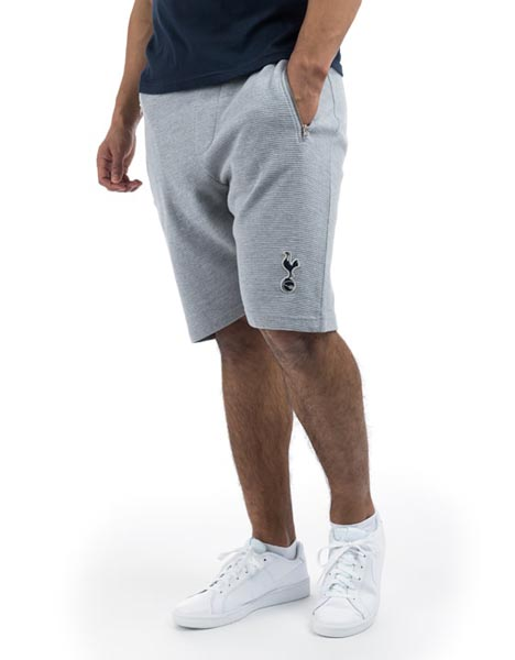 Spurs Mens Stripe Textured Shorts