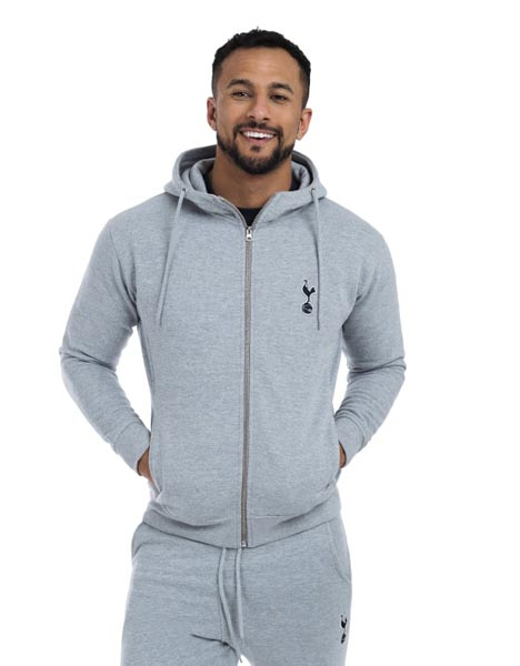 Spurs Mens Essential Full Zip Hoodie