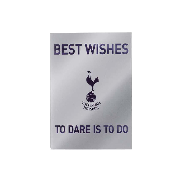 Spurs Shirt Birthday Card – Tottenham Birthday Cards