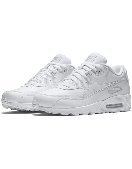 Nike Mens Air Max '90 Leather Trainers
