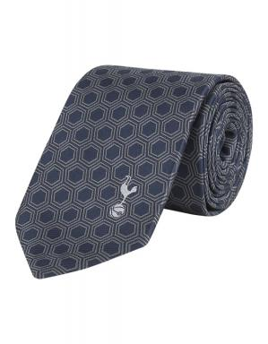 Spurs Navy Honeycomb Tie