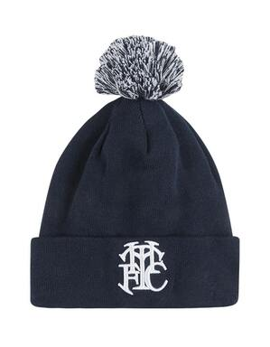 Spurs New Era Monogram Cuff Bobble Hat