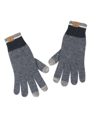 Spurs Adult Navy Marl Gloves