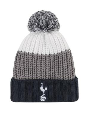 Spurs Adult Chunky Colour Block Bobble Hat