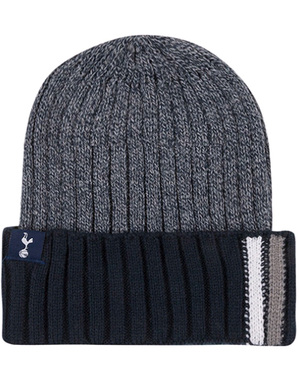 Spurs Adult Cuff Stripe Beanie