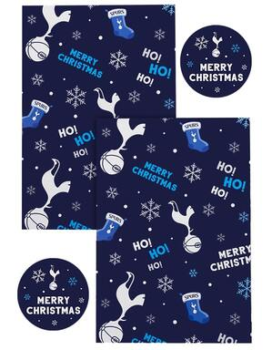Spurs Christmas Wrap And Tags