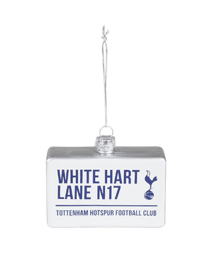 Spurs White Hart Lane Sign Tree Decoration