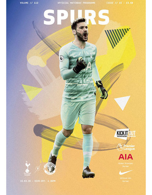 Spurs Vs Man United Postponed Matchday Programme