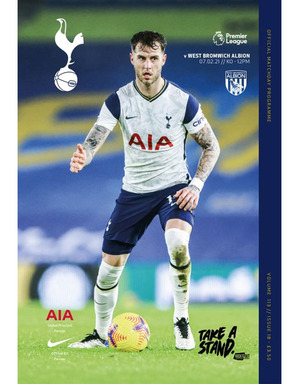 Spurs Vs West Brom Programme