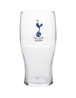 Spurs Crest Tulip Glass