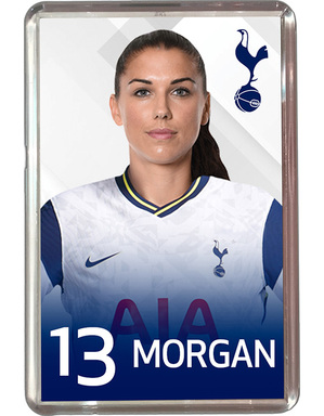 Spurs 2020/21 Alex Morgan Magnet