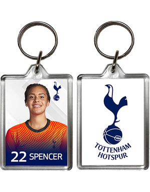 2020/21 Spurs Becky Spencer Keyring