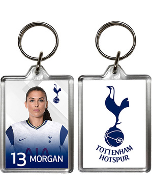 Spurs 2020/21 Alex Morgan Keyring