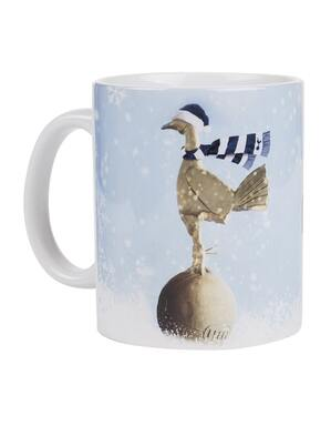 Spurs Merry Christmas Mug