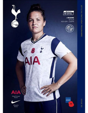 Spurs Women Vs Reading Women Programme