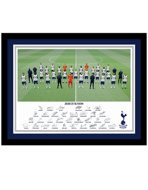 Spurs Framed 2020/21 Team Picture