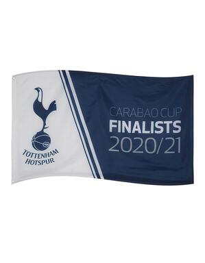 Spurs Carabao Cup Final Flag