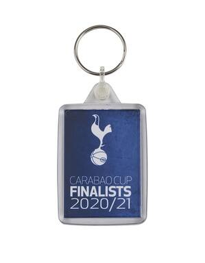 Spurs Carabao Cup Final Keyring
