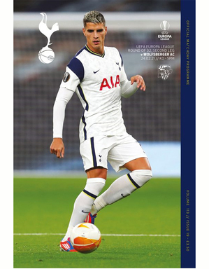 Spurs Vs Wolfsberger Programme