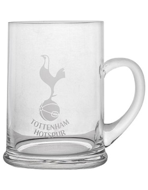 Spurs Quality Crystal Tankard