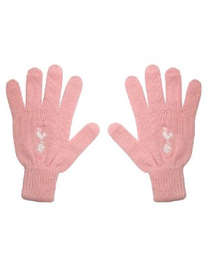 Spurs Girls Pink Gloves