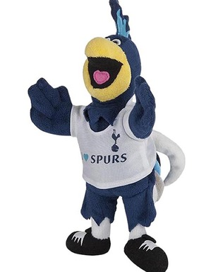 Spurs Chirpy Mascot Toy