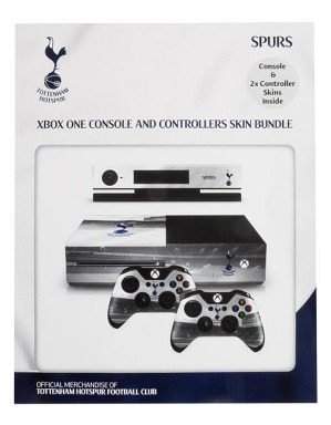 Spurs Xbox One Console and 2 Controller Skins