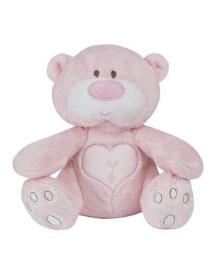 Spurs Pink Snuggles Bear