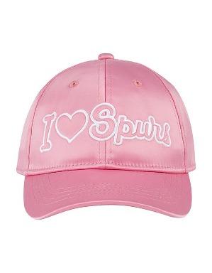Spurs Small Kids Pink Satin Cap