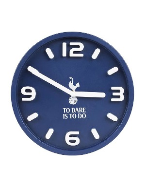 Spurs To Dare Is To Do Wall Clock