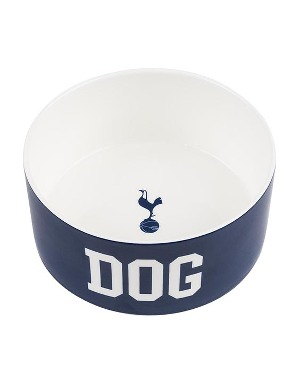 Spurs Crest Dog Ceramic Bowl