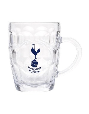 Spurs Crest Dimple Glass