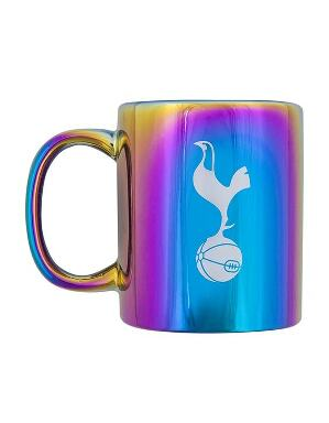 Spurs Crest Metallic Rainbow Mug