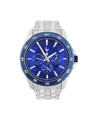 Spurs Mens Blue Dial Chronograph Watch