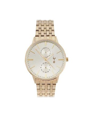 Spurs Mens Gold Dress Watch